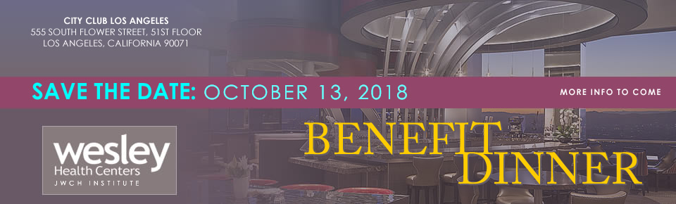 JWCH Benefit Dinner 2018